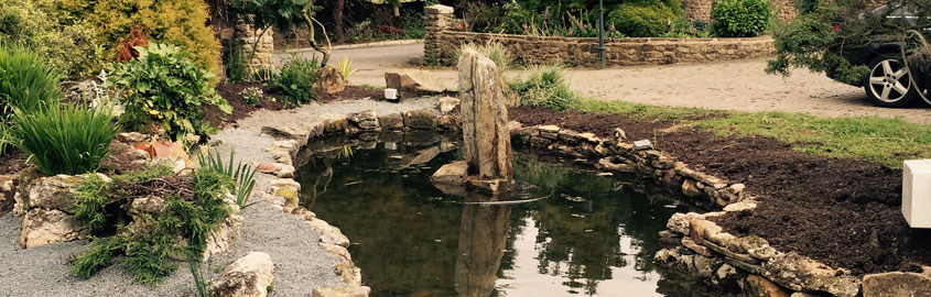 Developers of Lakes, Ponds and Water Features in Darlington and Durham